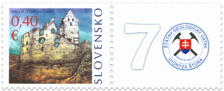 Castle of Topolčany - Stamp with personalised coupon