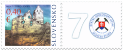 Hrad Topoľčany - Známka s personalizovaným kupónom