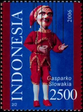 Gašparko - Indonézske vydanie