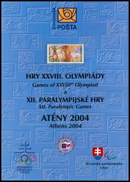 Obal ATÉNY 2004