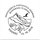 Inaugurácia poštovej známky - Muránska planina