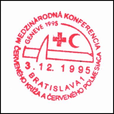 """""""Medzinárodná konferencia Červeného kríža a Červeného polmesiaca Geneve 1995"""""""