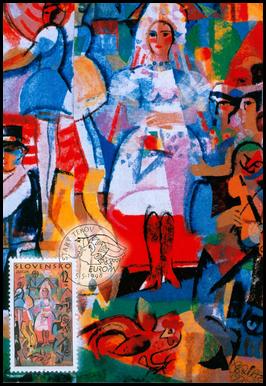 Europa 1998 Ľudová svadba bez kupónu