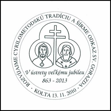 Rozvíjame Cyrilometodskú tradíciu a šírime odkaz sv. Gorazda