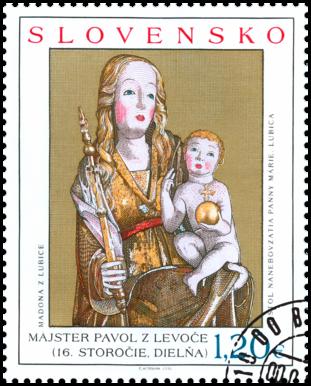Art: Gothic Madonna from Ľubica