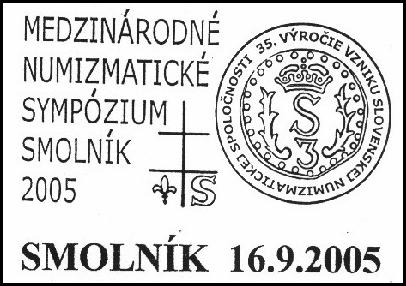 Medzinárodné numizmatické sympózium Smolník