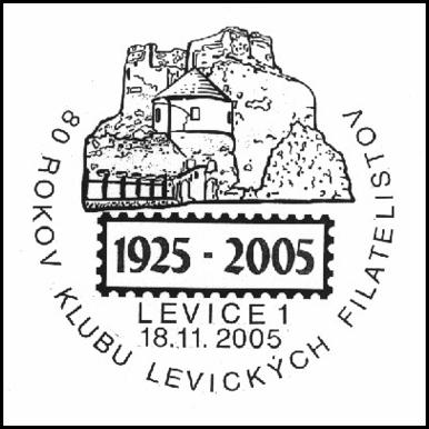 80 rokov klubu levických filatelistov 1925 - 2005