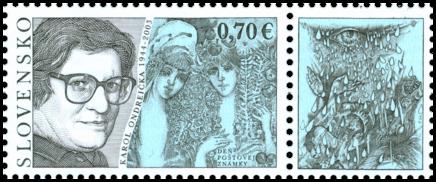 Postage Stamp Day : Karol Ondreička (1944 – 2003)