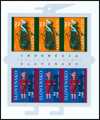 Spoločné vydanie s Indonéziou - Bábkové divadlo - Semar