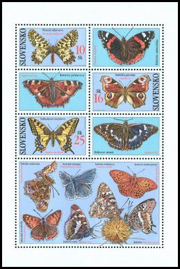 Motýle - Pestroň vlkovcový