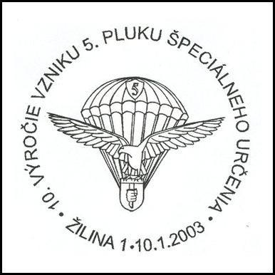 10. výročie vzniku 5. pluku špeciálneho určenia
