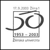 1953-2003, Žilinská univerzita