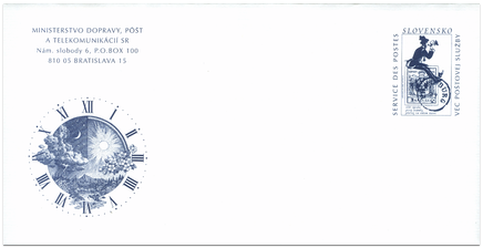 150th Anniversary of the First Stamp Put into Circulation on the Postal Service Territory of Slovakia (MDPT SR)