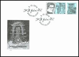 Postal Stamp Day: Karol Ondreička (1944-2003)