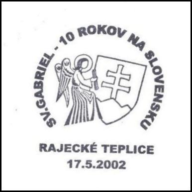 sv. Gabriel - 10 rokov na Slovensku