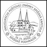 Inaugurácia poštovej známky Spišská Kapitula