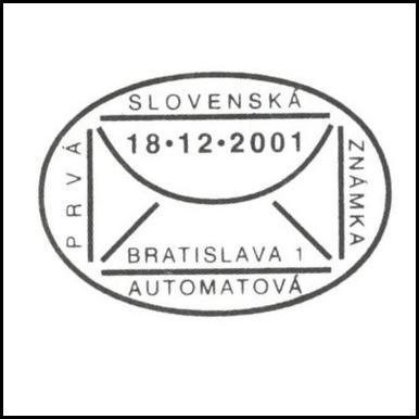 Prvá slovenská automatová známka