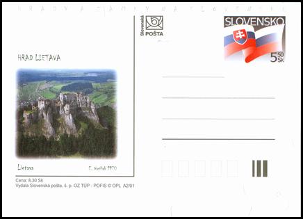 Hrady a zámky na Slovensku - Hrad Lietava