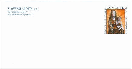Gotická madona z Ľubice (Slovenská pošta, a. s.)