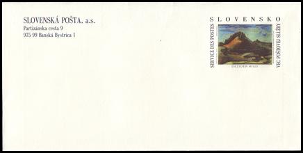 Dezider Milly: Krivý jarok, 1944 (Slovenská Pošta, a. s.)