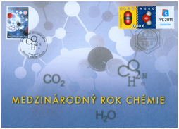 International Year of Chemistry 2011/Commemorative sheet of the Belgic Post