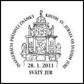 Inaugurácia poštovej známky Kostol sv. Juraja vo Svätom Jure