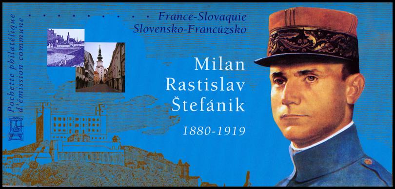 Milan rastislav štefánik - spoločné francúzsko - slovenské
