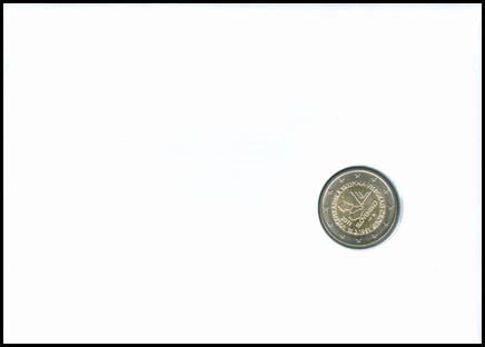 Numizmatická obálka: 20. výročie založenia Vyšehradskej skupiny