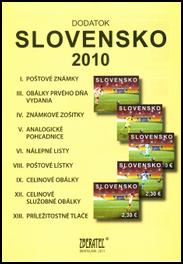 Dodatok katalógu Slovensko 2010