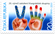 20th Anniversary of the Foundation of the Visegrad Group (CZ)