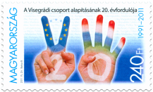 20th Anniversary of the Foundation of the Visegrad Group (HU)