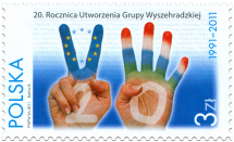 20th Anniversary of the Foundation of the Visegrad Group (PL)