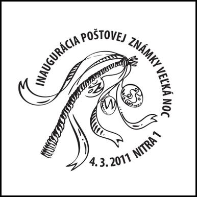 Inaugurácia poštovej známky Veľká noc 2011