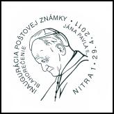 Inaugurácia poštovej známky Blahorečenie Jána Pavla II.