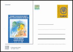 Ozdobné telegrafné blankety prvej Československej republiky