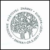 Uvedenie poštovej známky Európa - Lesy