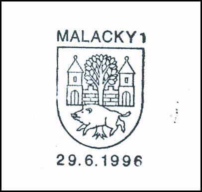 bez textu (erb mesta Malacky)