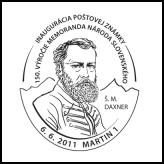 Inaugurácia poštovej známky Historické výročia: 150. výročie Memoranda národa slovenského