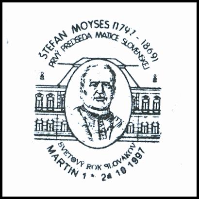 Štefan moyses (1797-1869) prvý predseda matice slovenskej&;
