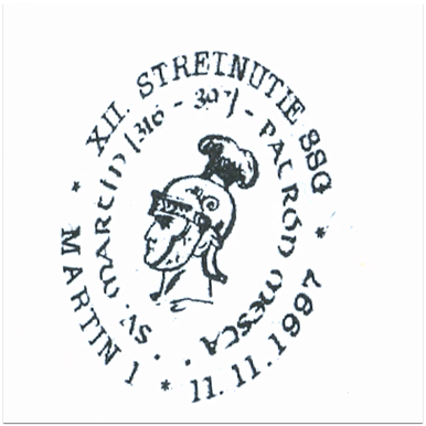 """XII.stretnutie SSG Sv. Martin (316-397) patrón mesta"""