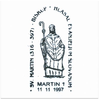 """Sv. Martin (316 - 397) biskup hlásal evanjelium Slovanom"""