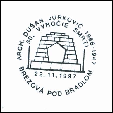 """""""50. Výročie úmrtia architekta Dušana Jurkoviča (1947-1997)"""""""