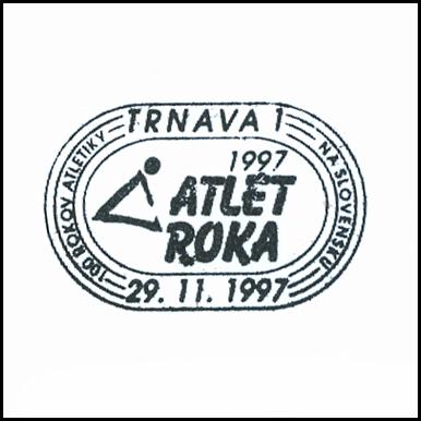 """""""Atlét roka 1997"""""""