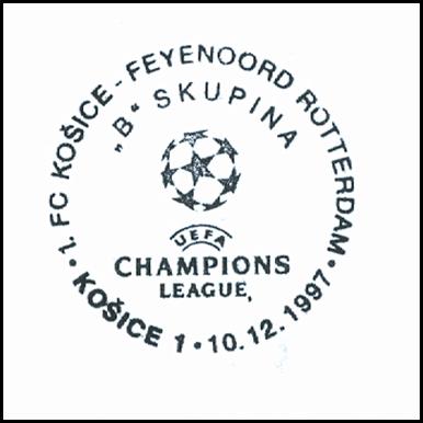 """1.FC Košice-Feynord Roterdam FC liga majstrov ""B""skupina"""