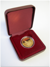 Commemorative medal of the opening of the first permanent exhibition of the Postal Museum (gold)