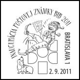 Inaugurácia poštovej známky BIB 2011