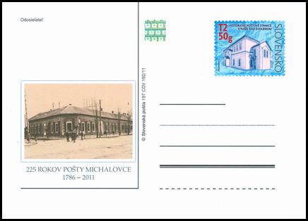 225. výročie pošty v Michalovciach