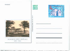 160th. Anniversary of Piešťany's Post Office