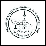 Inaugurácia poštovej známky M. M. Hodžu 1811 - 1870