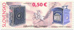 Postage Stamp Day: Historical Mailbox